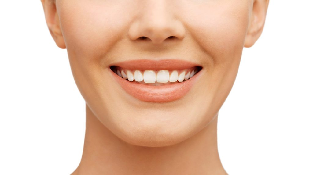 Picture of a woman with a beautiful smile